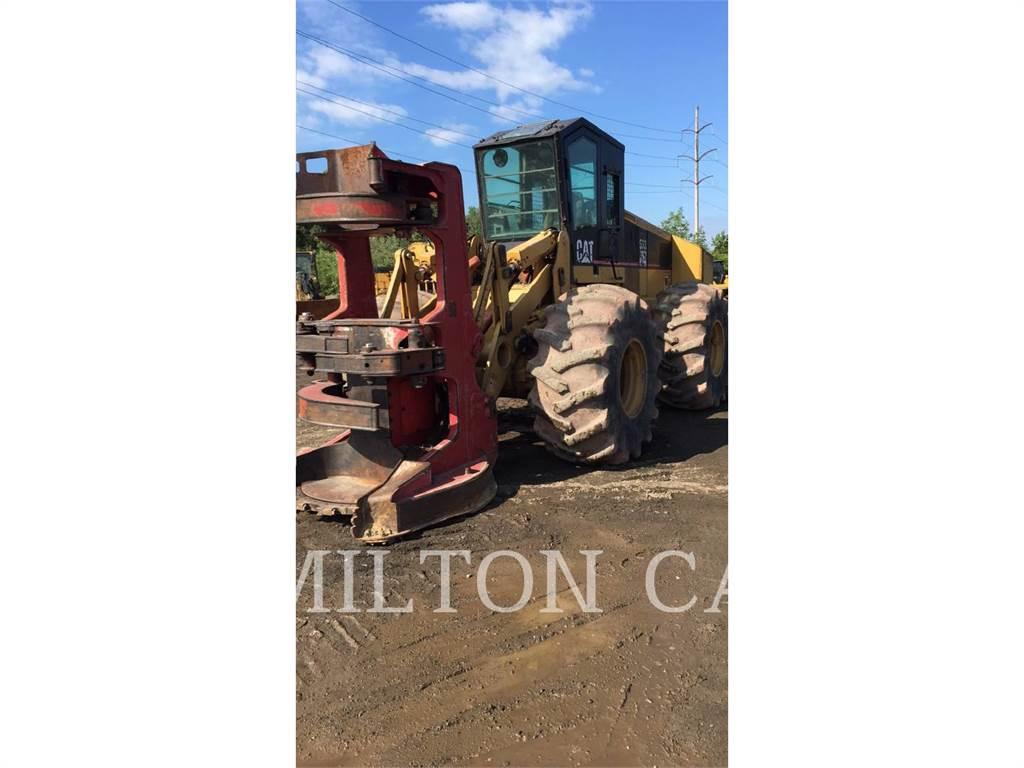 Caterpillar 533、フェラーバンチャー、林業機械