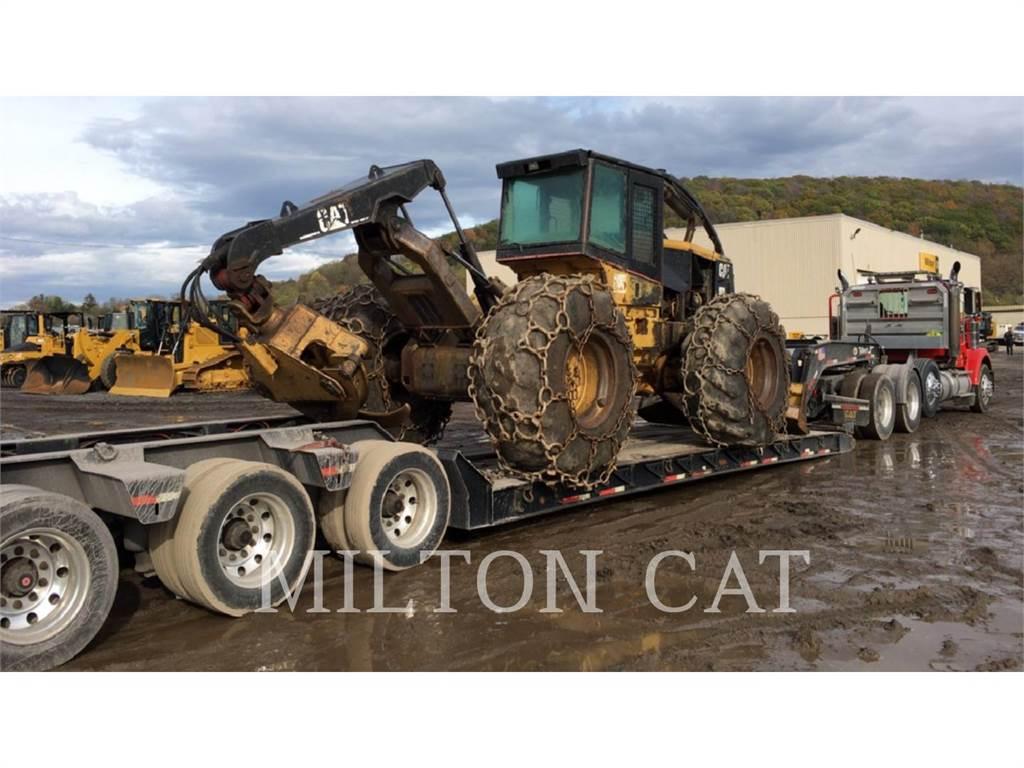 Caterpillar 535B, leśnictwo - skidery, Maszyny leśne