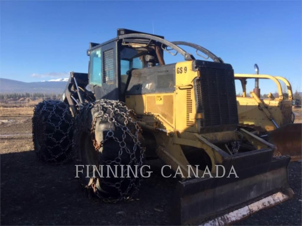 Caterpillar 535C, лесная промышленность - трелевочный трактор, Лесотехника