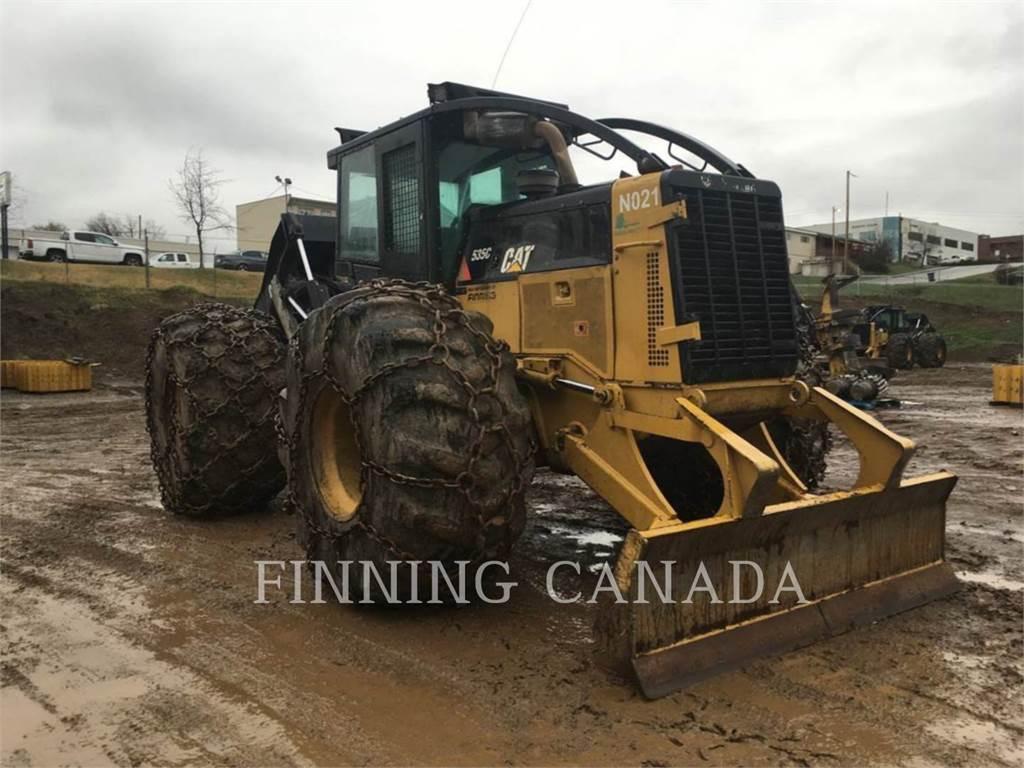 Caterpillar 535C, skidder, Forestry Equipment