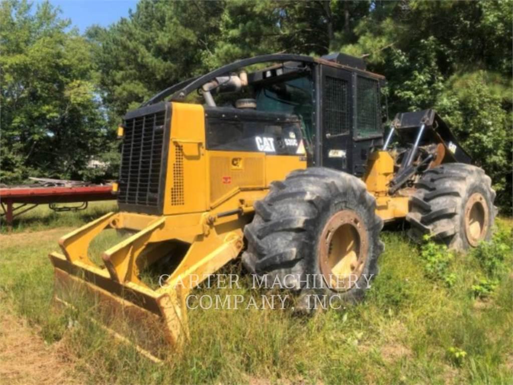 Caterpillar 535C, forstwirtschaft - holzrücker, Forstmaschinen