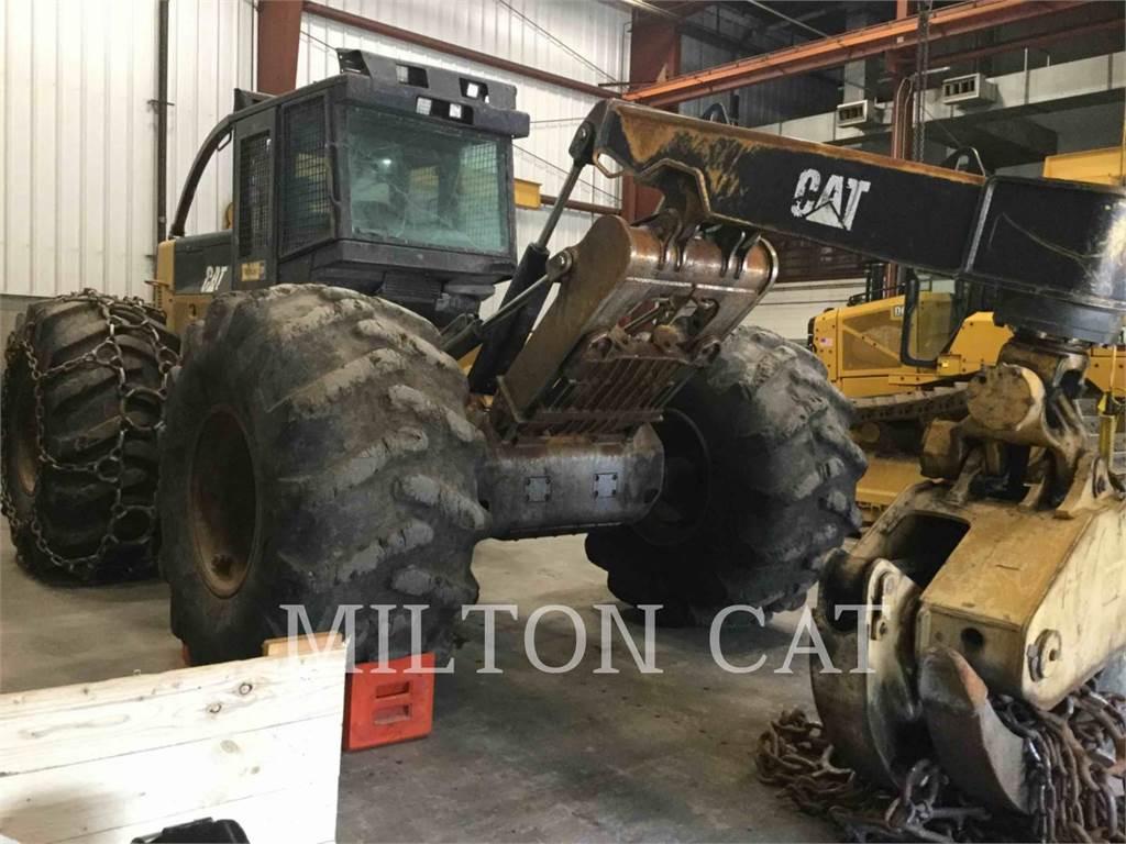 Caterpillar 535C, leśnictwo - skidery, Maszyny leśne