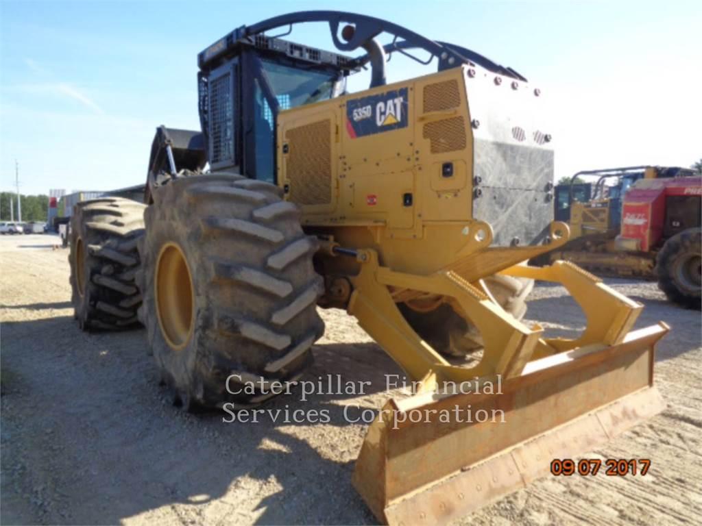 Caterpillar 535D, exploitation forestière - débardeurs, Forestier