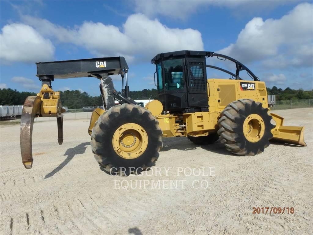 Caterpillar 535D, forstwirtschaft - holzrücker, Forstmaschinen
