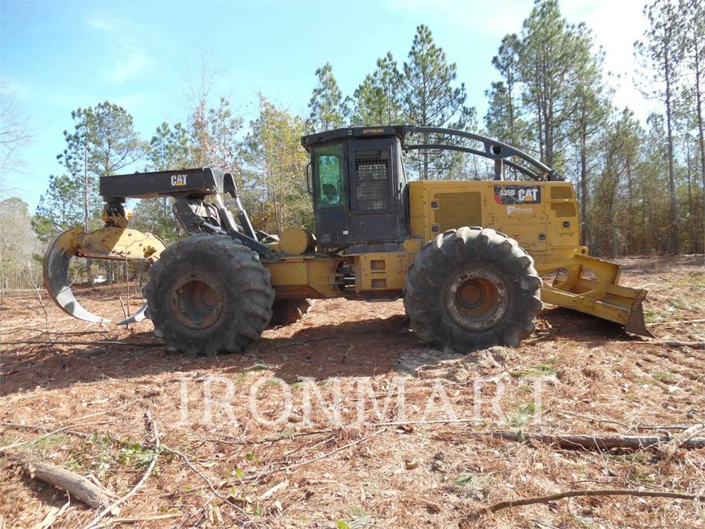 Caterpillar 535D, skidder, Forestry Equipment