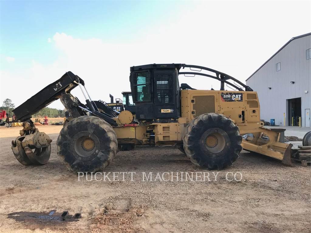 Caterpillar 535D、林業 - スキッダ、林業機械