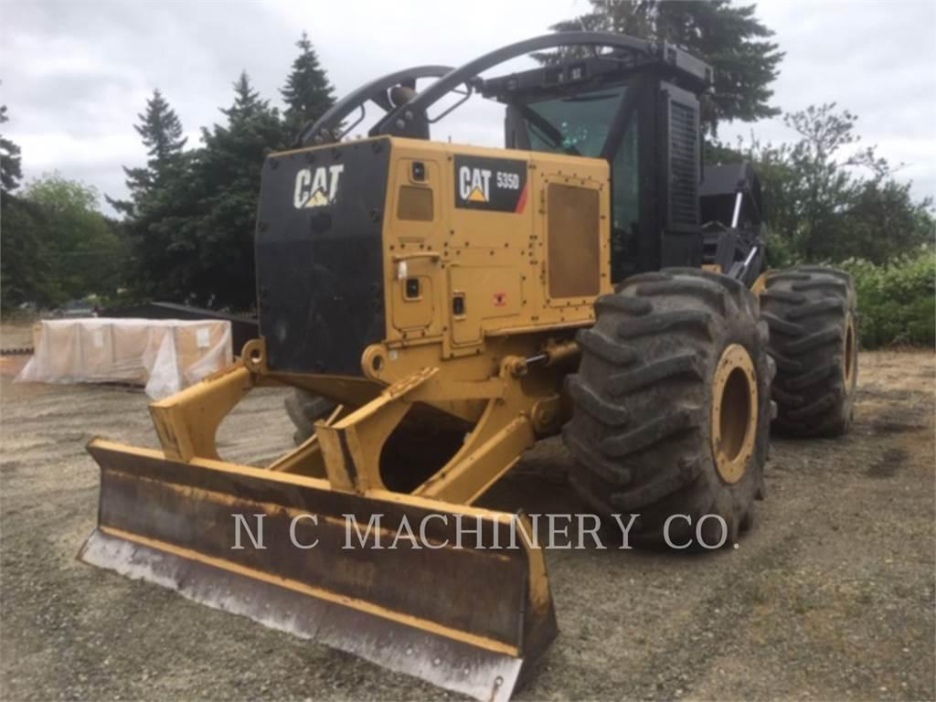 Caterpillar 535D, leśnictwo - skidery, Maszyny leśne