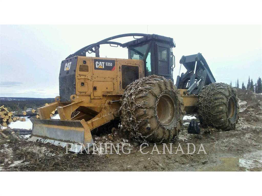 Caterpillar 535DLRC, skidder, Forestry Equipment