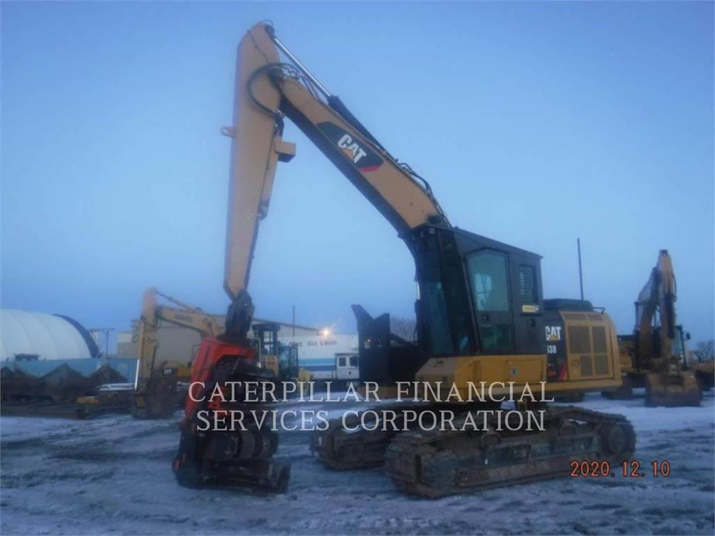 Caterpillar 538GF, Crawler Excavators, Construction