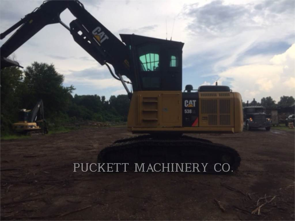 Caterpillar 538LL, Feller Bunchers, Forestry Equipment