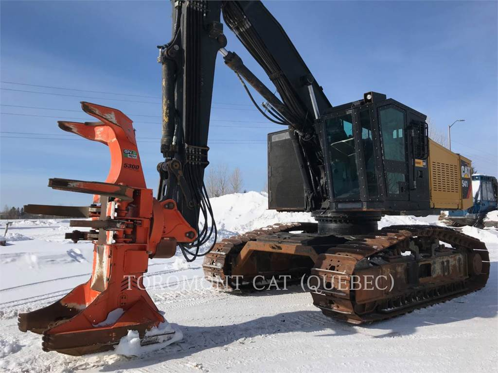 Caterpillar 541, Feller Bunchers, Forestry Equipment