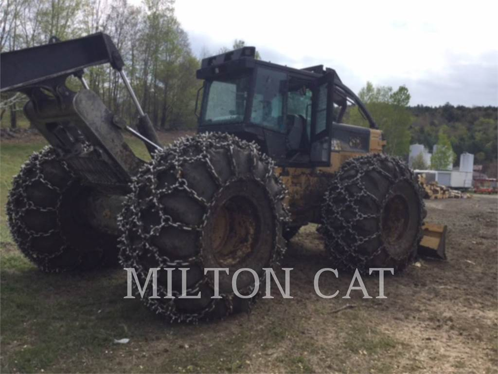 Caterpillar 545C、林業 - スキッダ、林業機械
