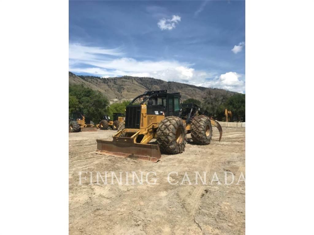 Caterpillar 545C、粉碎机、林业机械