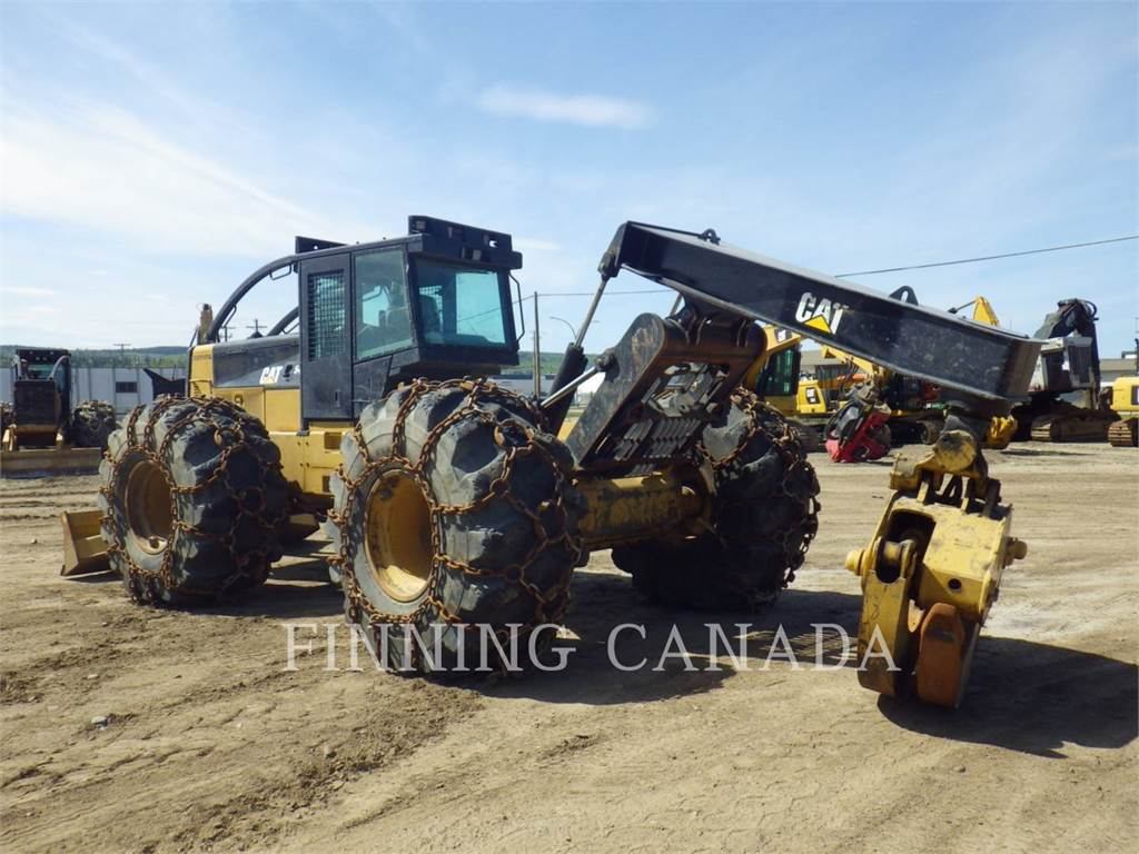 Caterpillar 545C, skidder, Forestry Equipment