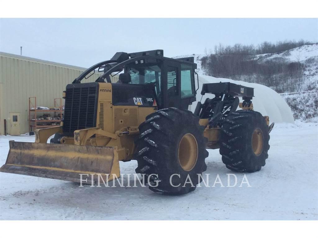 Caterpillar 545C, лесная промышленность - трелевочный трактор, Лесотехника
