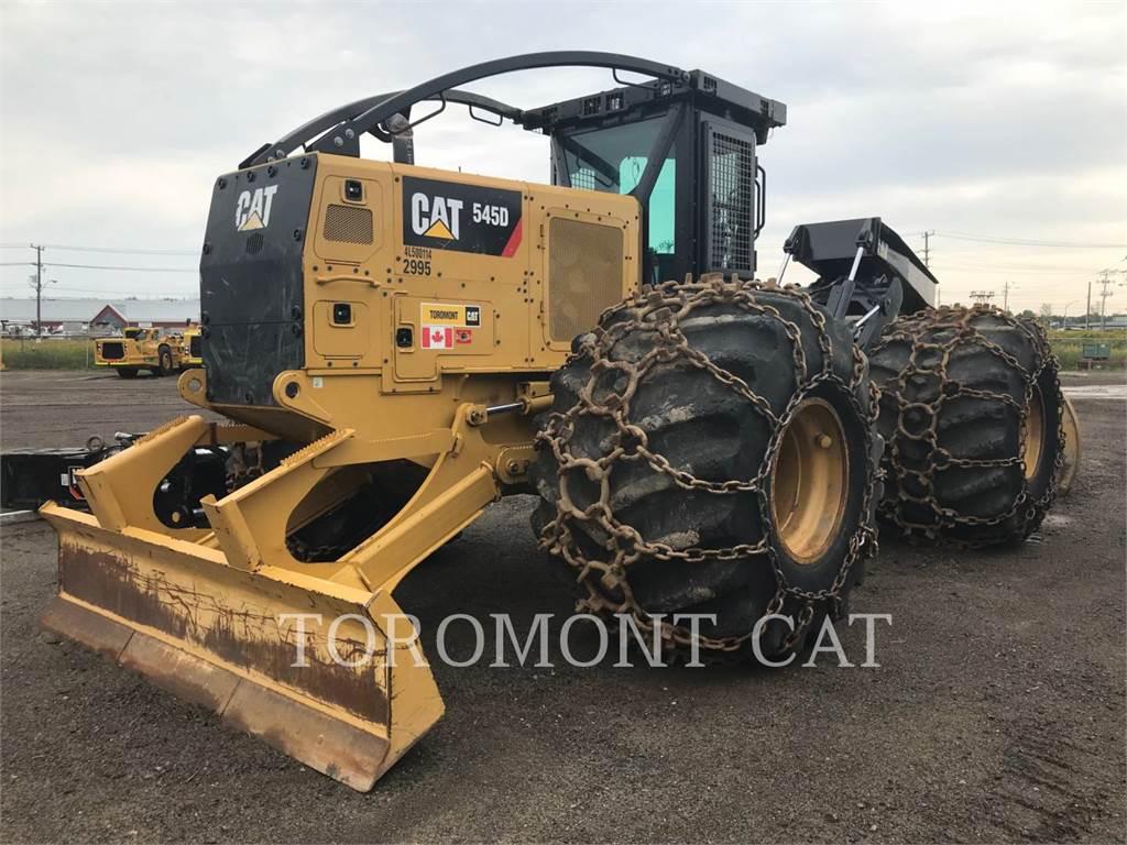 Caterpillar 545D, leśnictwo - skidery, Maszyny leśne
