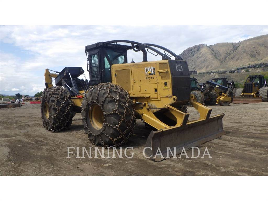 Caterpillar 545D, skidder, Forestry Equipment