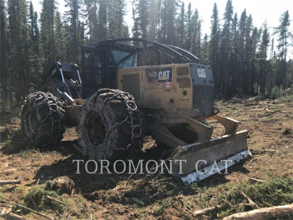 Caterpillar 545D, forestal - arrastrador de troncos, Forestal