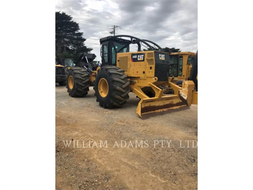 Caterpillar 545D, лесная промышленность - трелевочный трактор, Лесотехника