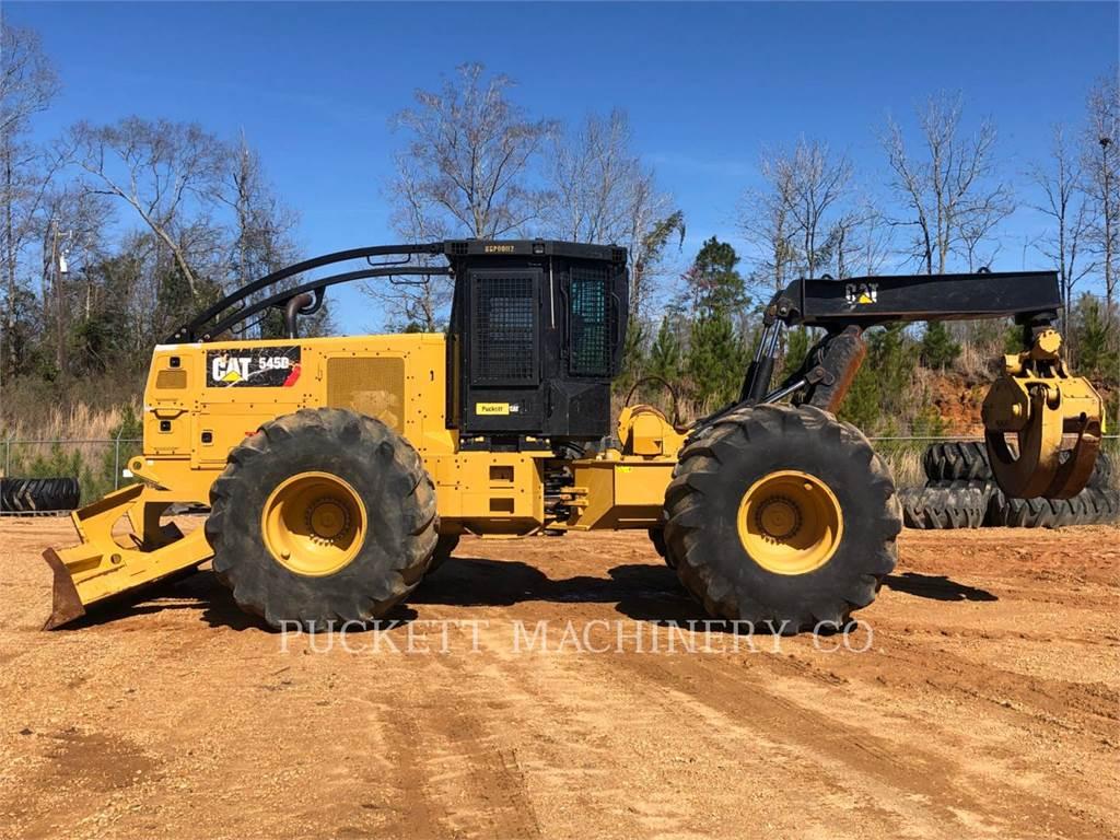 Caterpillar 545D, forstwirtschaft - holzrücker, Forstmaschinen