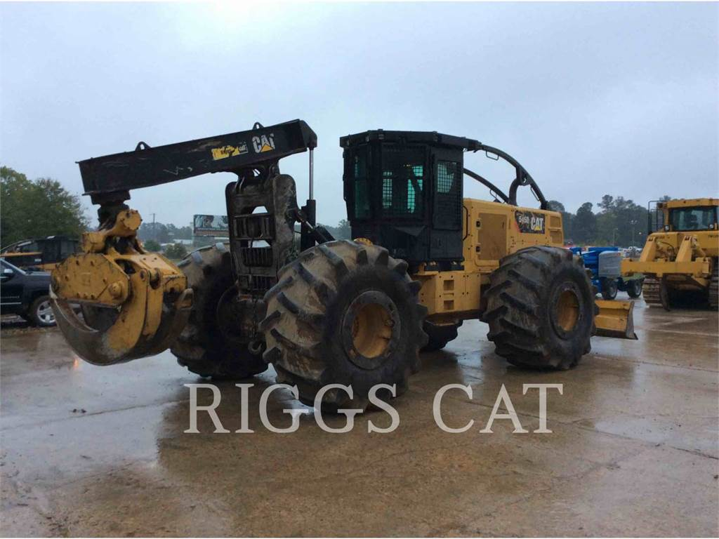 Caterpillar 545D, skidder, Forestry Equipment
