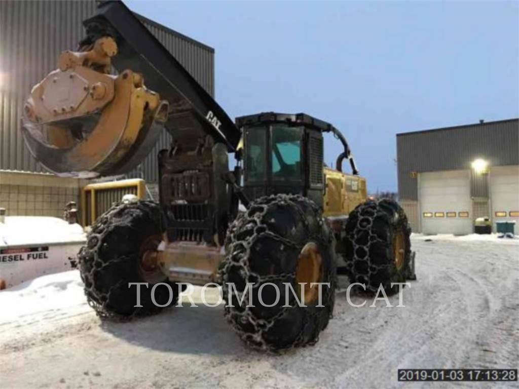 Caterpillar 545DLRC, forstwirtschaft - holzrücker, Forstmaschinen