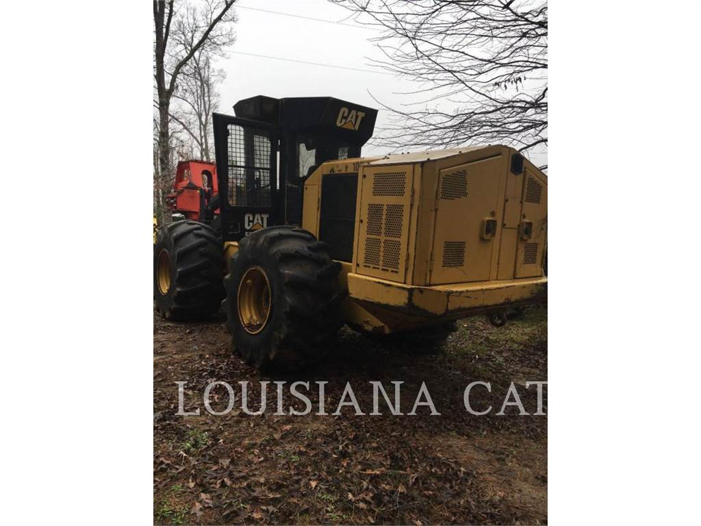 Caterpillar 553C, Feller Bunchers, Forestry Equipment