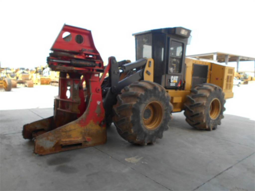 Caterpillar 553C, Forstanhänger/Rückewagen, Forstmaschinen