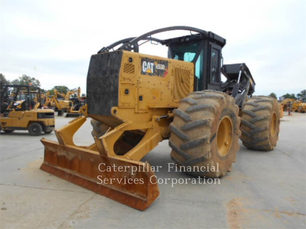 Caterpillar 555D, skidder, Forestry Equipment