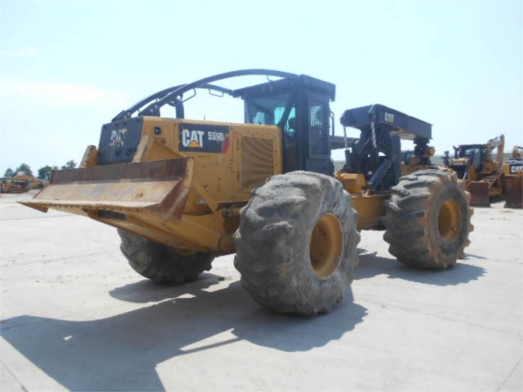Caterpillar 555D, forstwirtschaft - holzrücker, Forstmaschinen