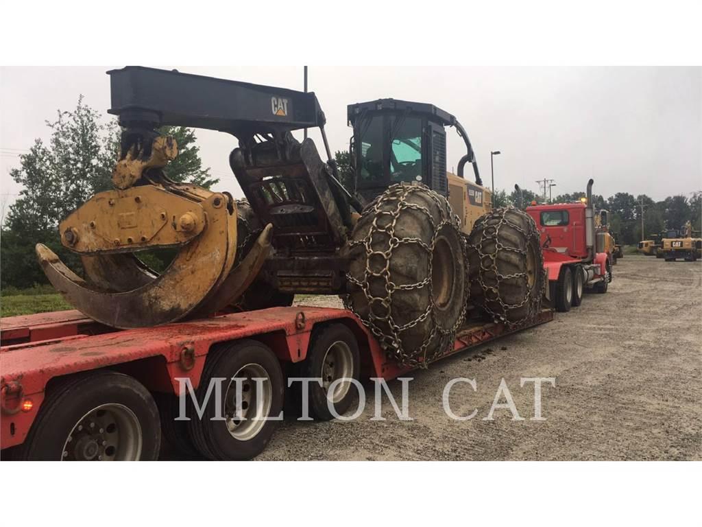 Caterpillar 555D, leśnictwo - skidery, Maszyny leśne