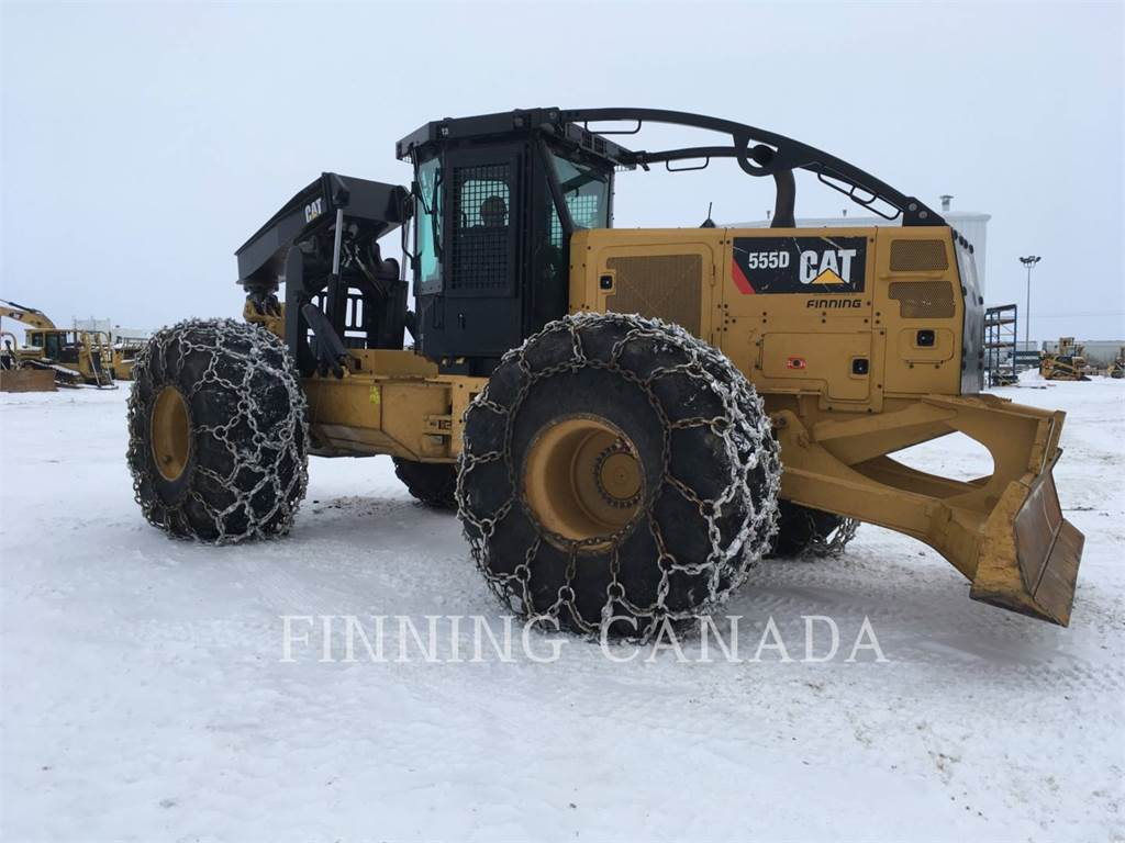 Caterpillar 555D, skidder, Forestry Equipment