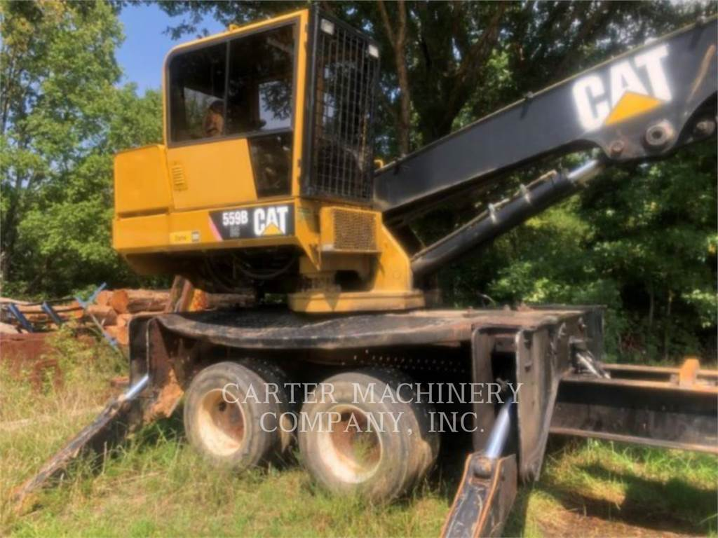 Caterpillar 559B DS, Chargeuse forestière, Forestier