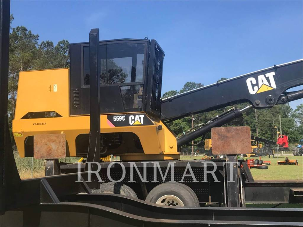 Caterpillar 559C, Chargeuse forestière, Forestier