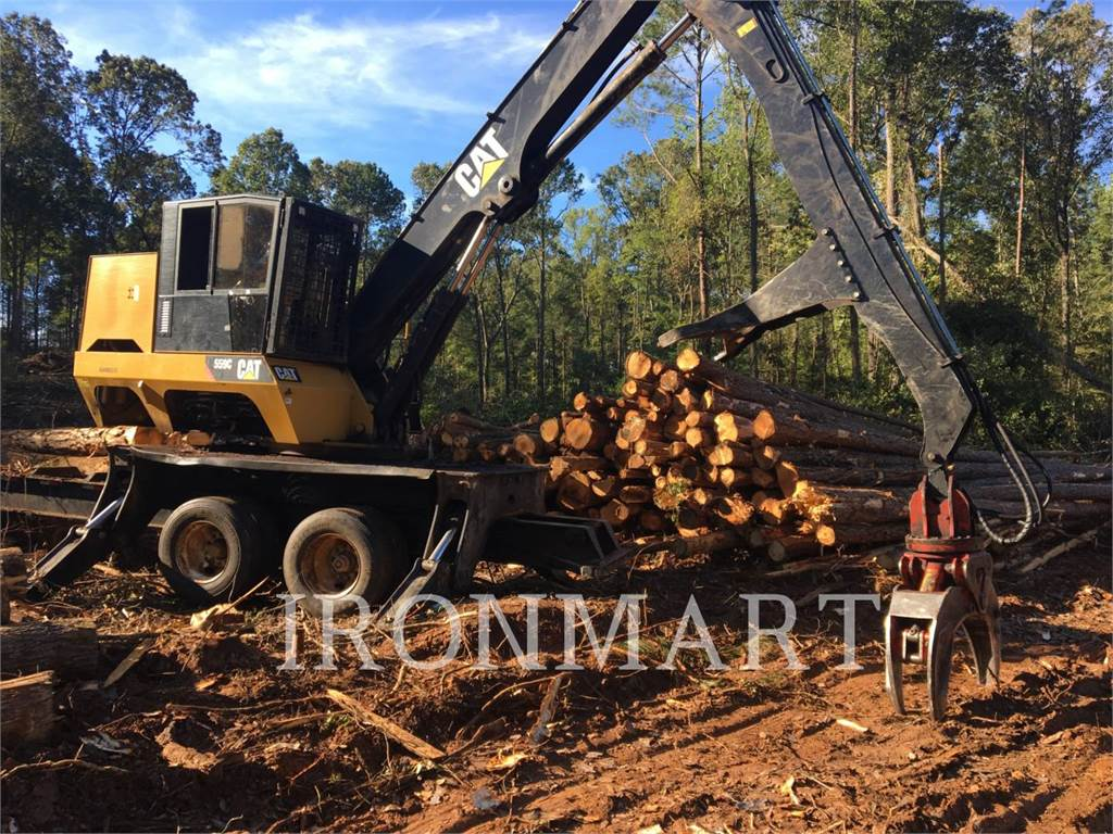 Caterpillar 559C, Knuckleboom loaders, Forestry Equipment