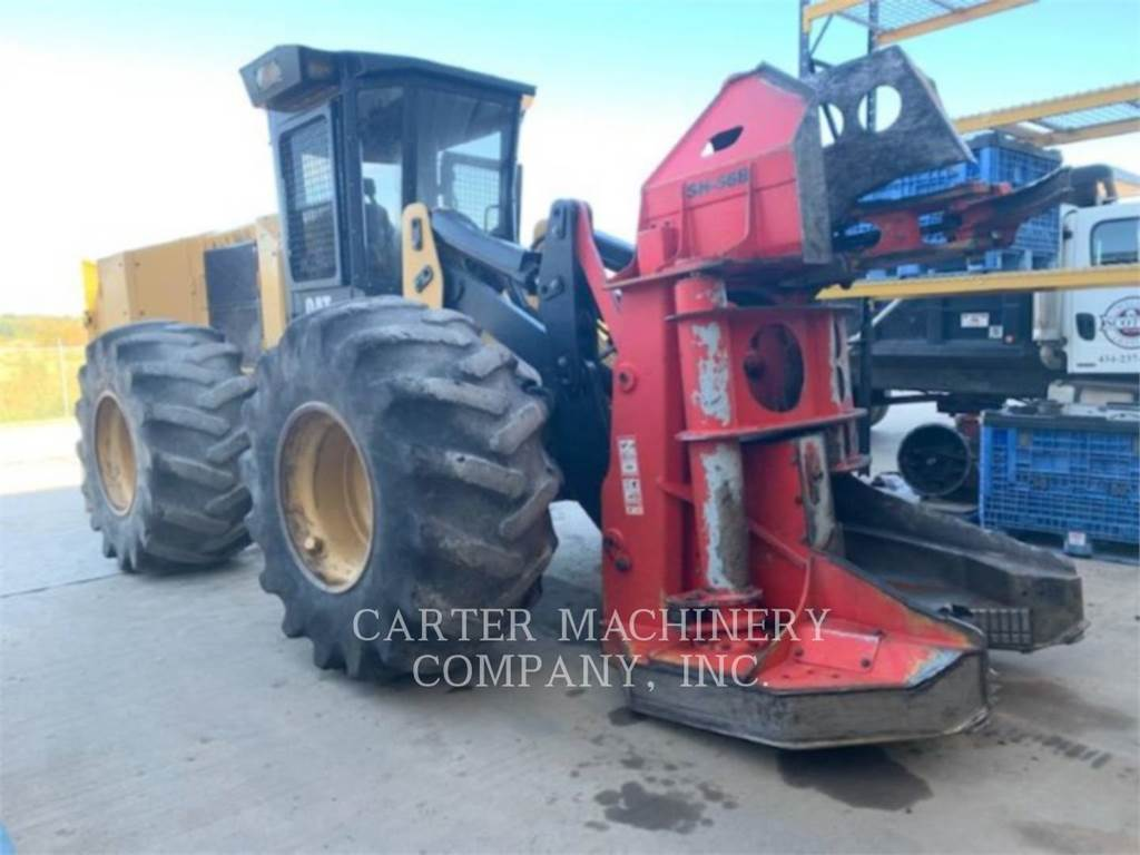 Caterpillar 563C, Feller Bunchers, Forestry Equipment
