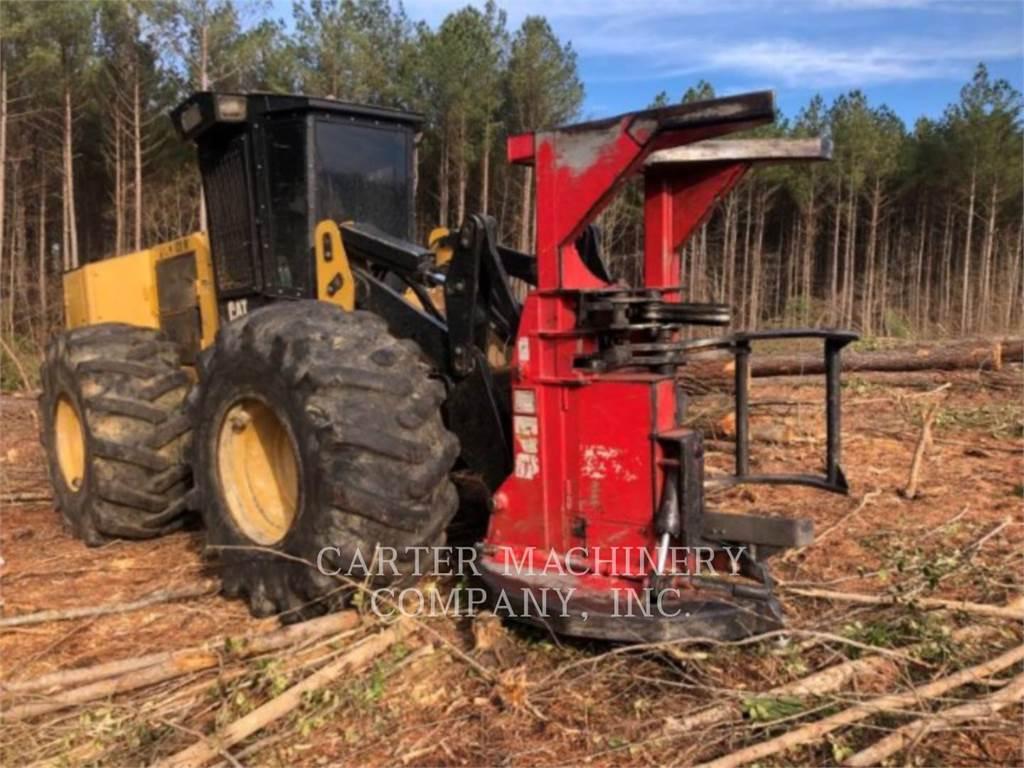 Caterpillar 563C, Harwestery gąsienicowe, Maszyny leśne