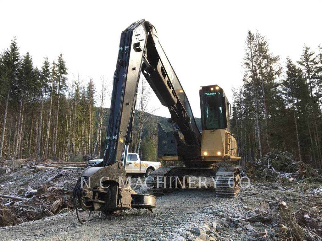 Caterpillar 568, Chargeuse forestière, Forestier