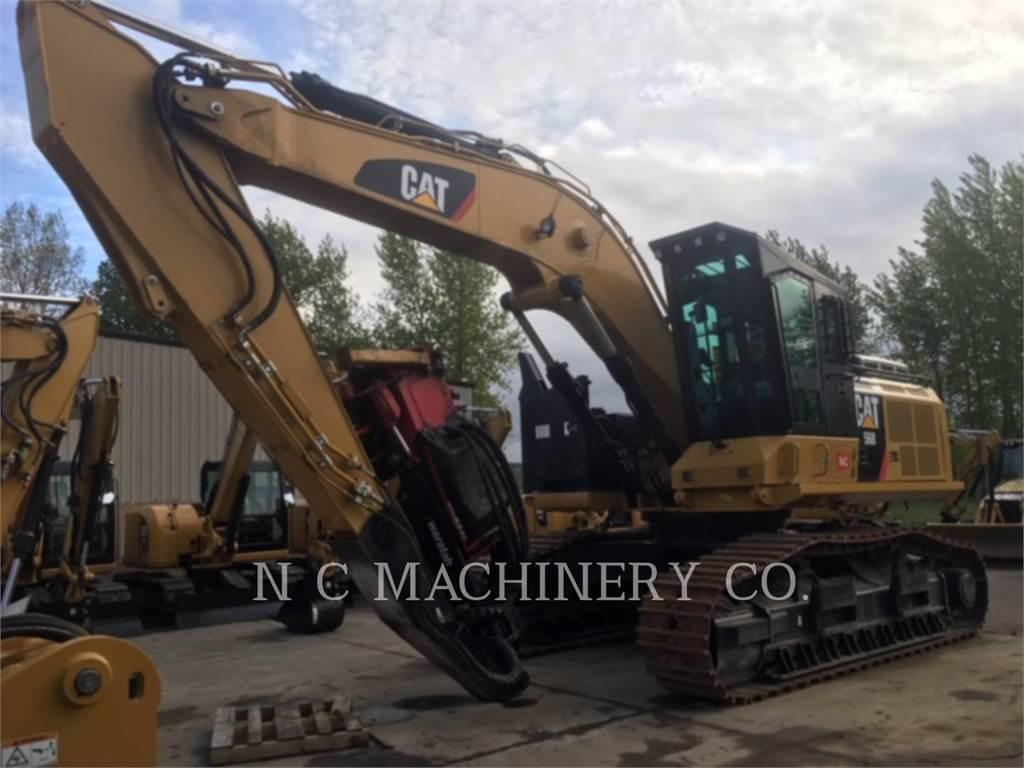 Caterpillar 568 GF、筑床机、林业机械