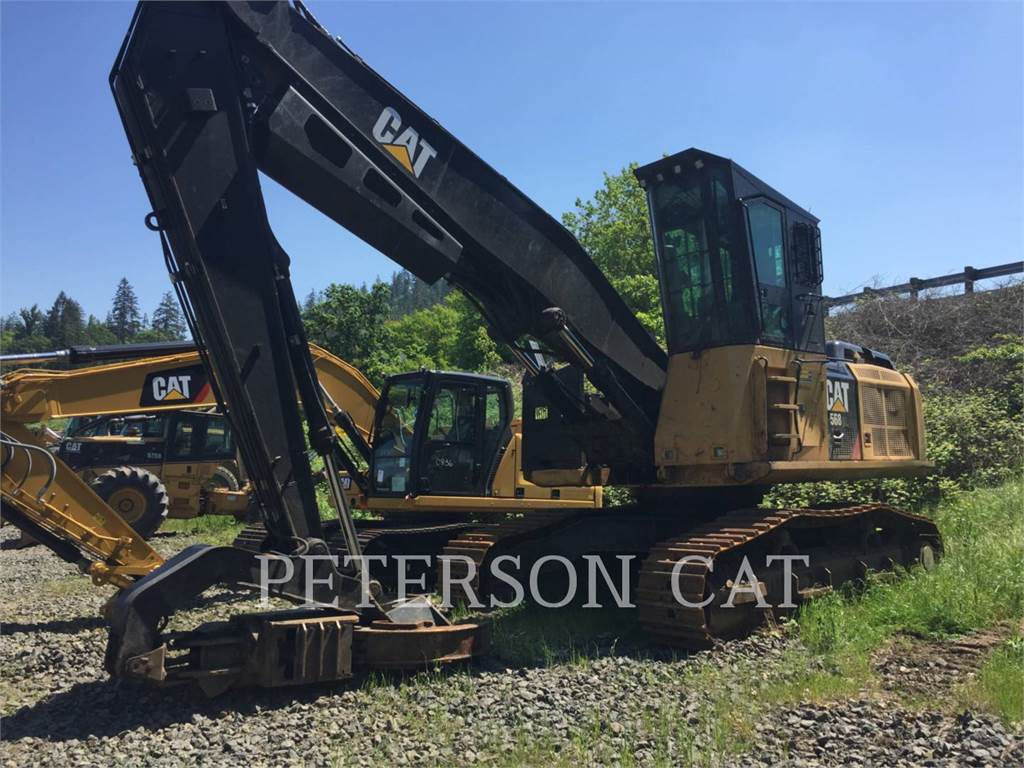 Caterpillar 568 LL, Feller Bunchers, Forestry Equipment