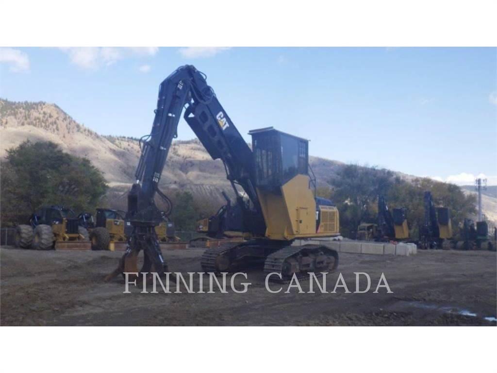 Caterpillar 568LL, Feller Bunchers, Forestry Equipment