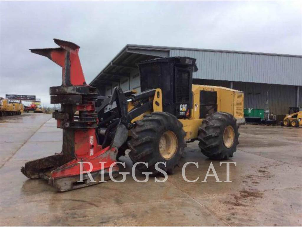 Caterpillar 573C, Feller Bunchers, Forestry Equipment