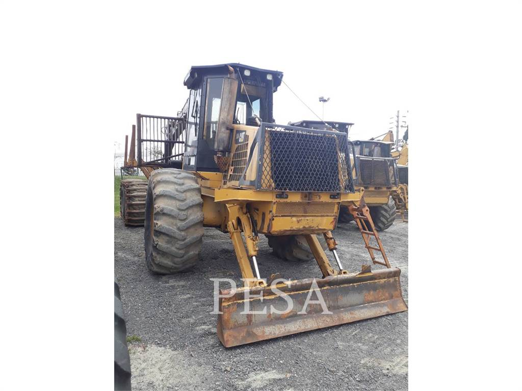 Caterpillar 584, forwarder, Forestry Equipment