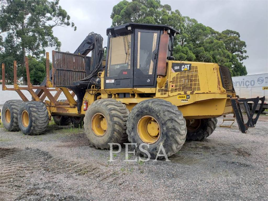 Caterpillar 584, forwarder, Forestry Equipment