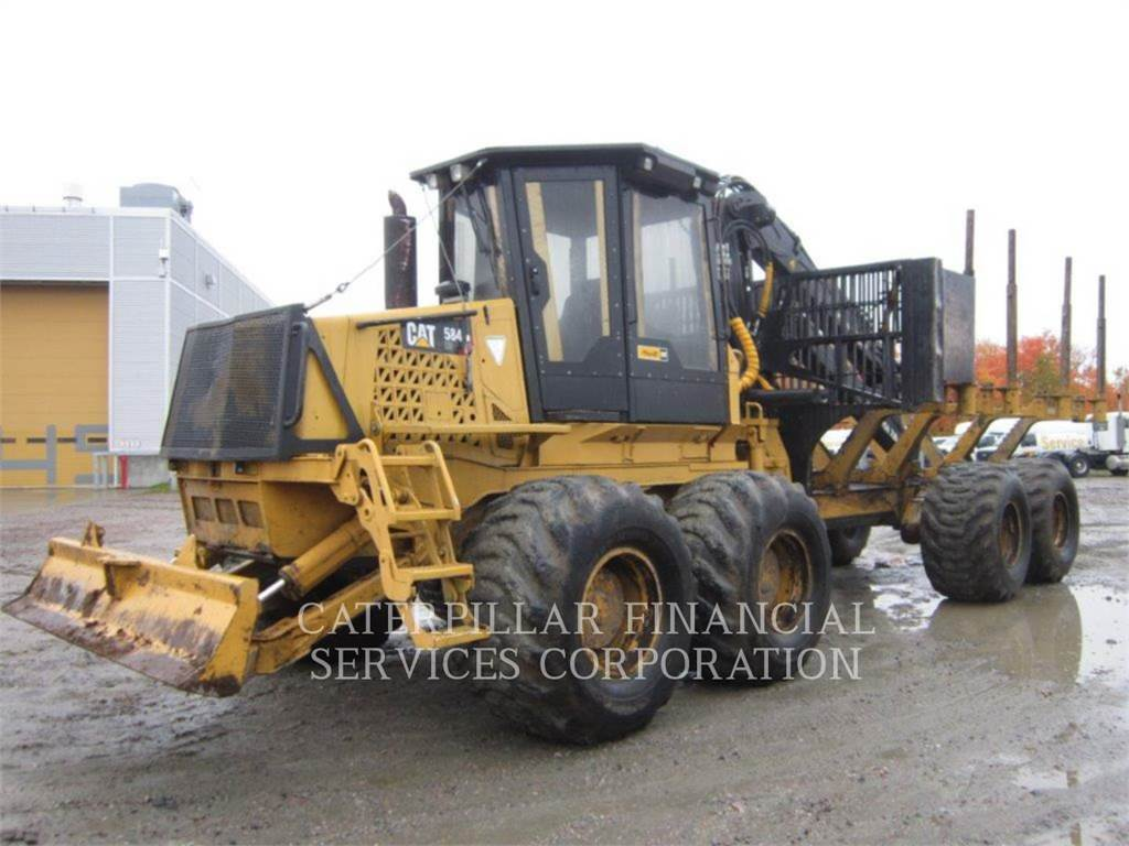 Caterpillar 584HD, forwarder, Forestry Equipment