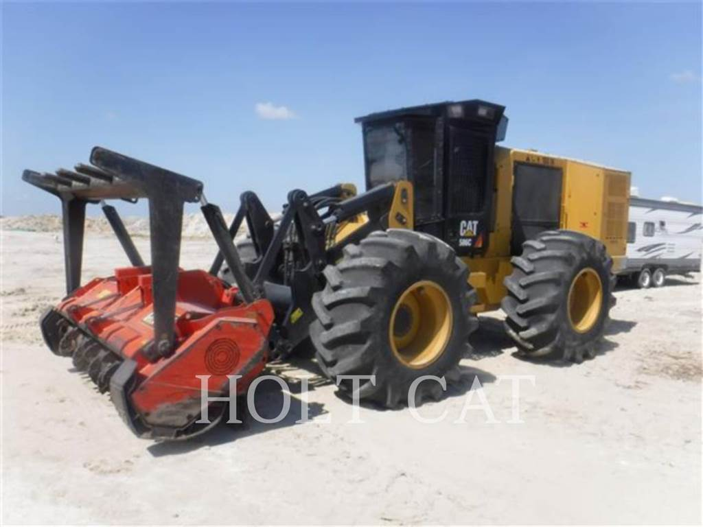 Caterpillar 586C, Pasture Mowers And Toppers, Agriculture
