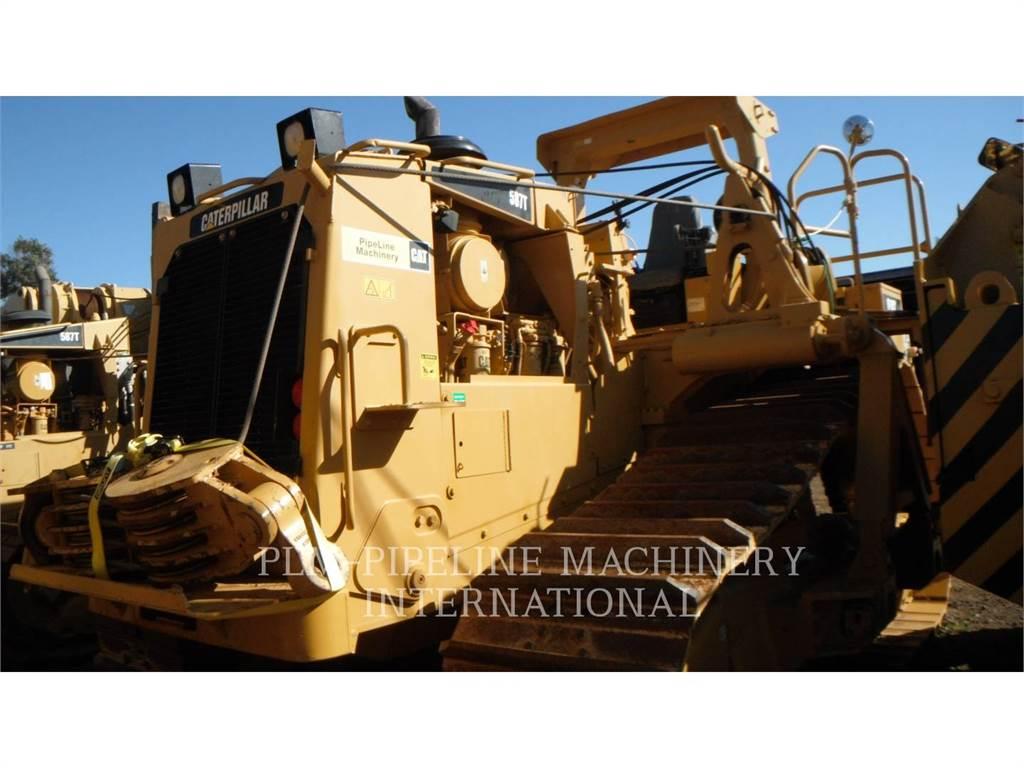 Caterpillar 587T, posatubi, Attrezzature Da Costruzione