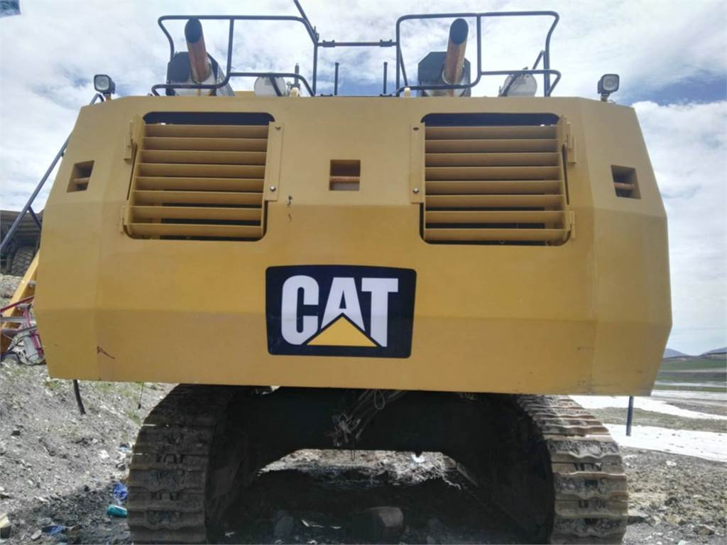 Caterpillar 6018, large mining product, Construction