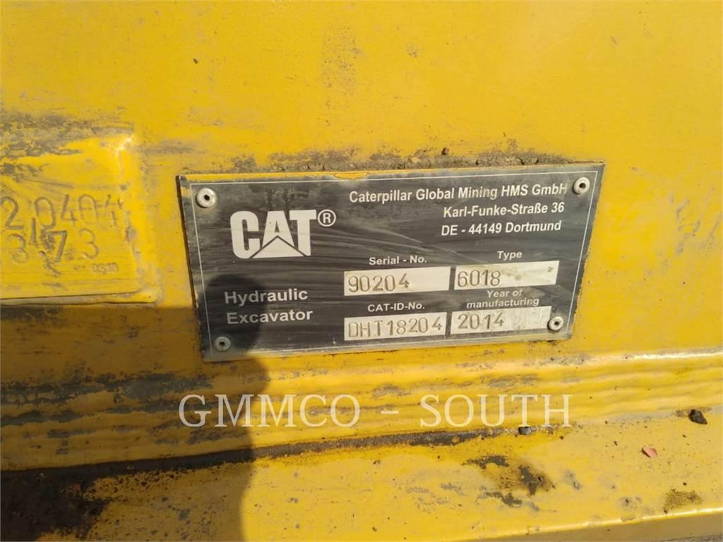 Caterpillar 6018, produtos de grandes mineradoras, Equipamentos Construção