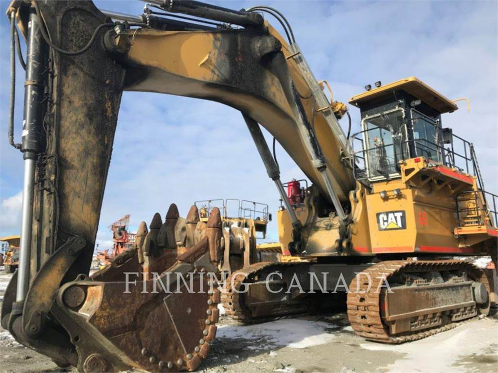 Caterpillar 6018, Crawler Excavators, Construction